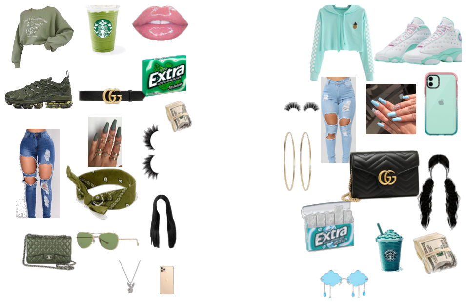 Starbucks outfit