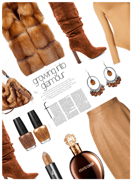 Glamour!! Faux Fur