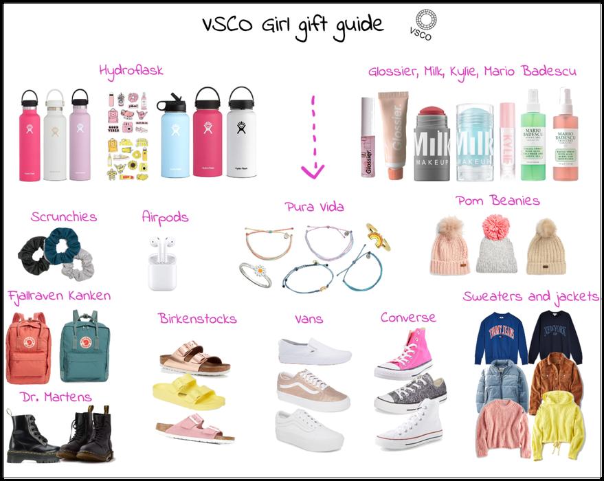 VSCO Girl Gift Ideas