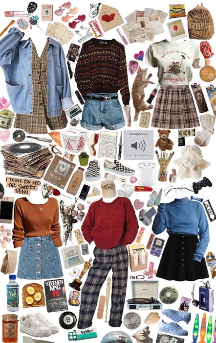 meet me through outfits!