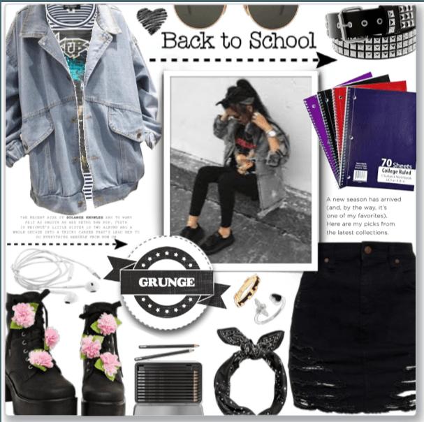 Grunge Back to School