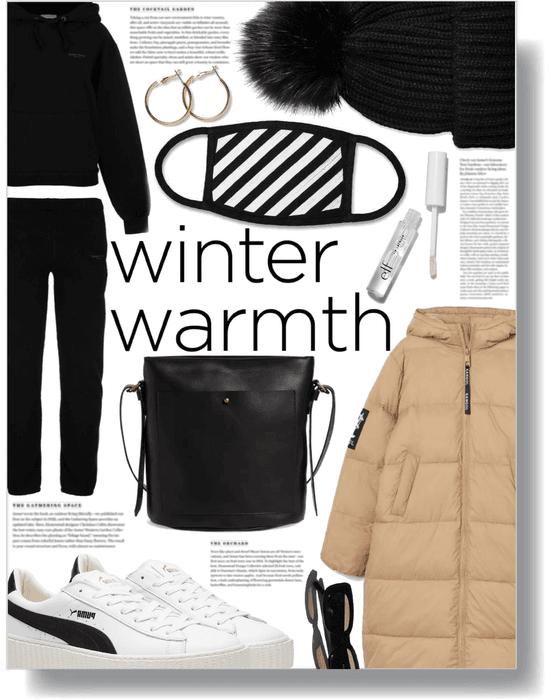 winter puffer 🤎