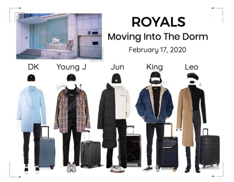 ROYALS [감청색] Moving Into The Dorm