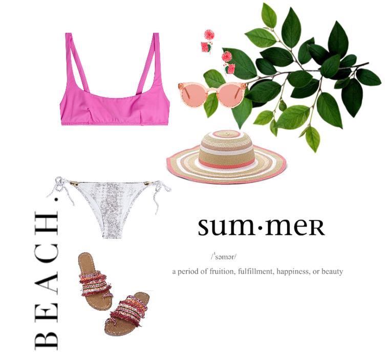 summer by the beach