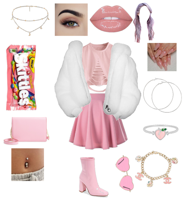 PINK LOOK OF A RICH GIRL 3