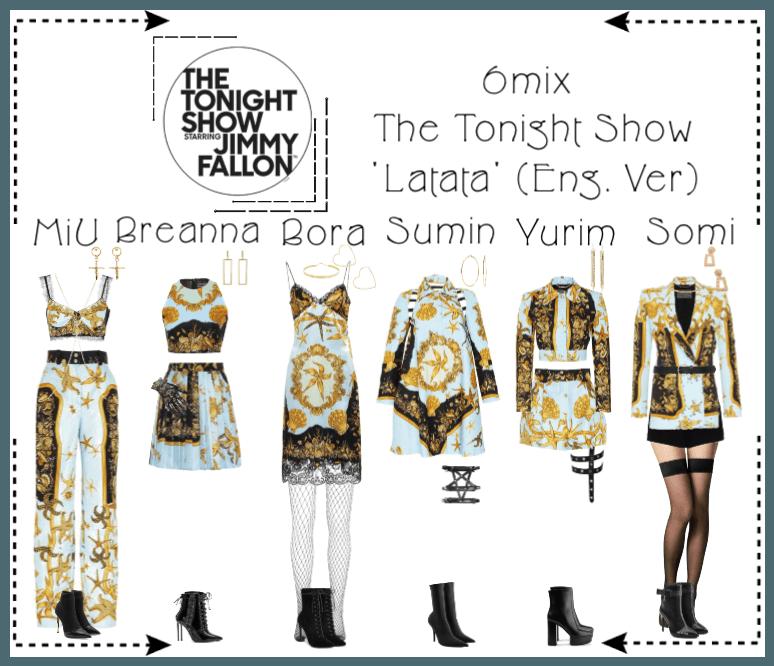 《6mix》The Tonight Show Starring Jimmy Fallon