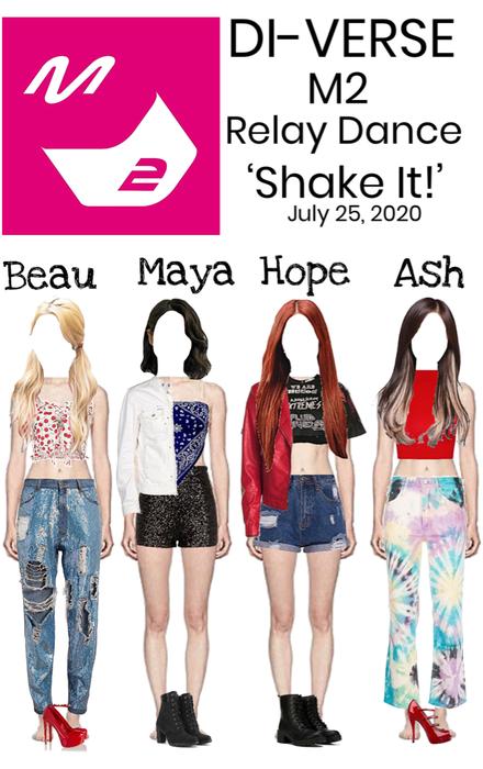 DI-VERSE M2 Relay Dance 'Shake It!'