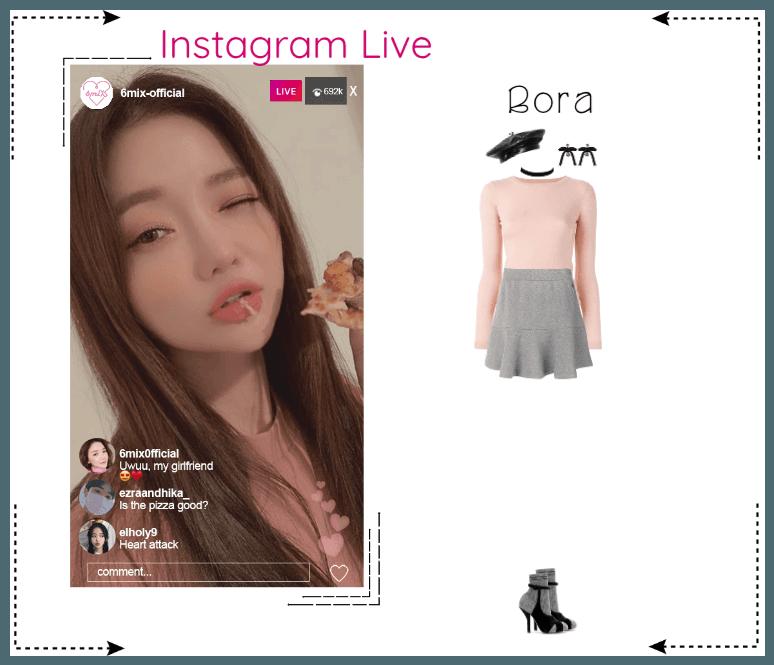 《6mix》Instagram Live - Bora