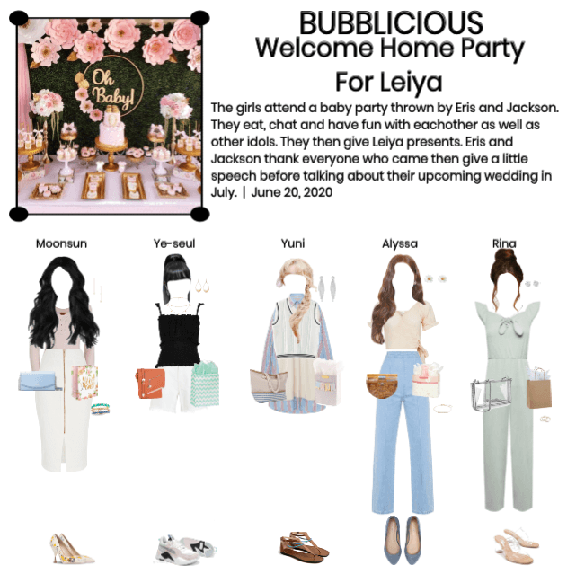 BUBBLICIOUS (신기한) Welcome Home Party For Leiya 🎉