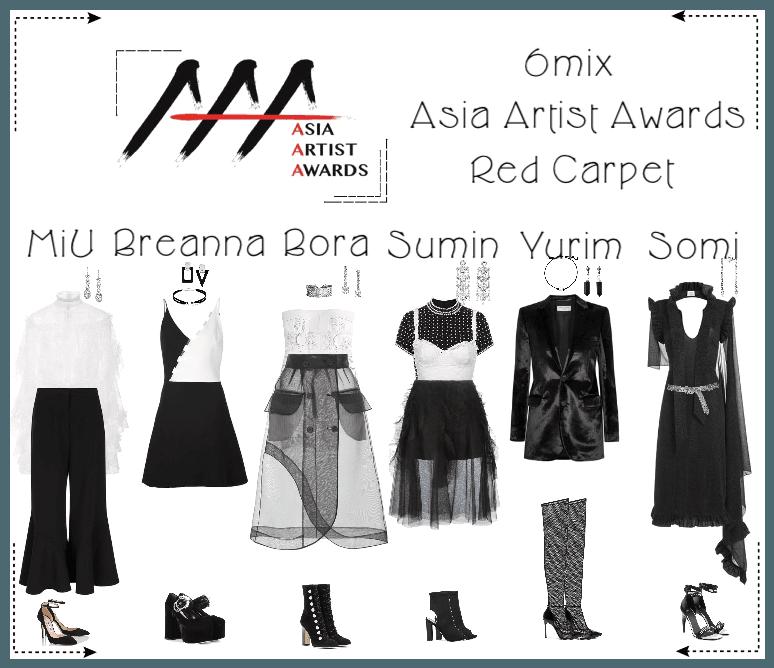 《6mix》Asia Artist Awards Red Carpet 2018