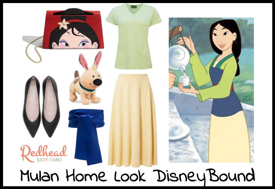 Mulan Home Look Disneybound