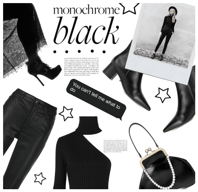 Monochrome Black Everything