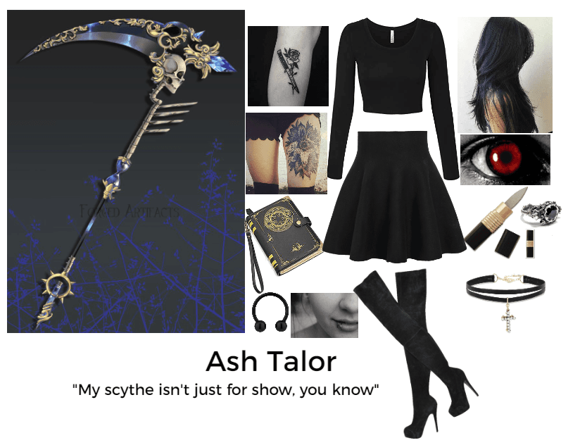 Rwby OC: Ash Taylor