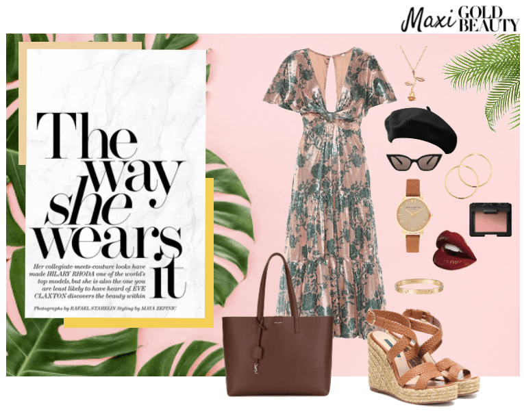 Maxi Glam Look for Summer