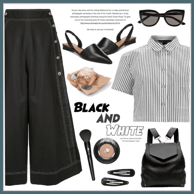 Black & White!