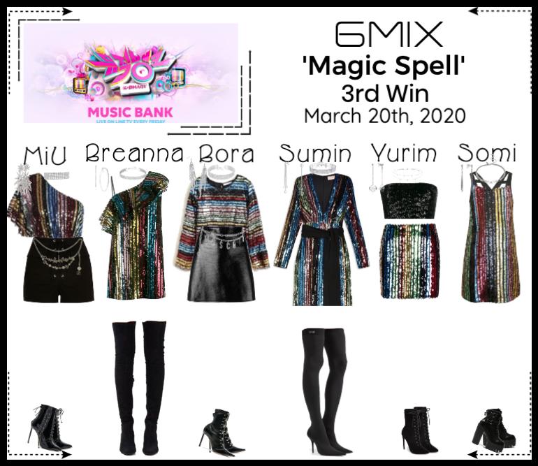 《6mix》Music Bank Live 'Magic Spell'