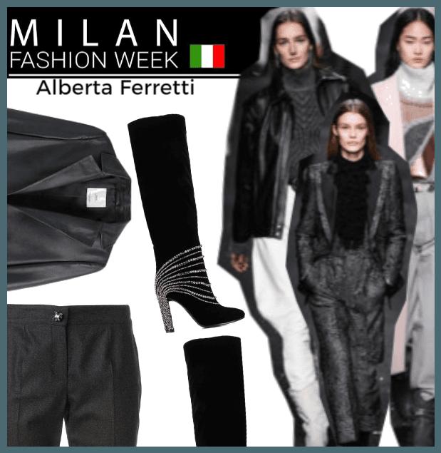 Milan Fashion Week Runway!