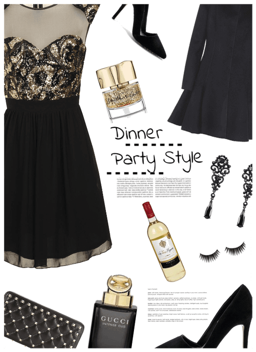 Dinner Party Style/Thanksgiving Work Party