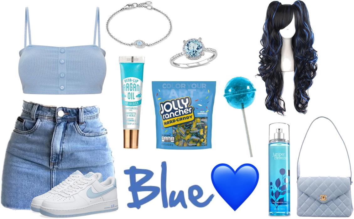 blue (for @pattimayo's challenge)