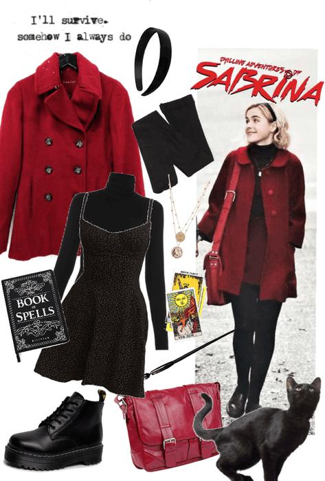 Sabrina, (outfit #2)