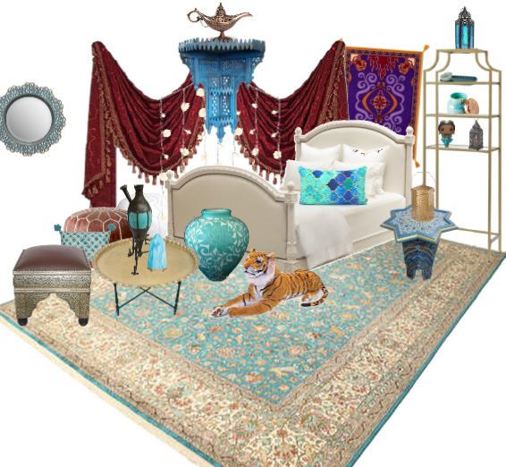 Aladdin bedroom