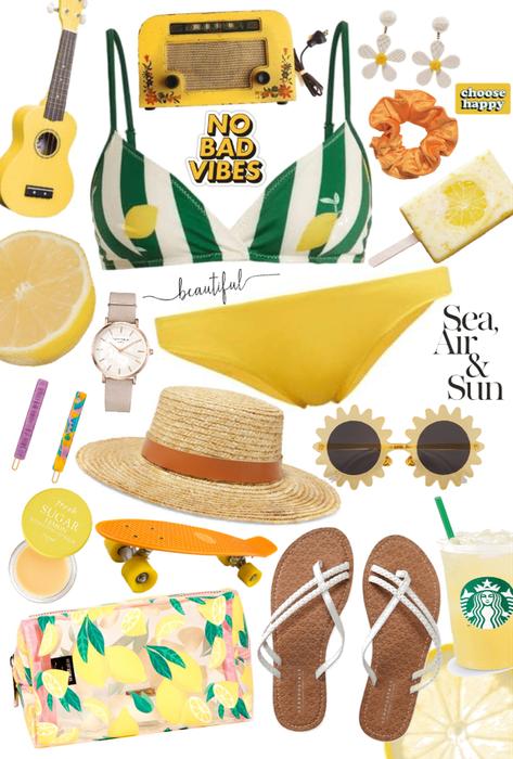 lemonade beach day