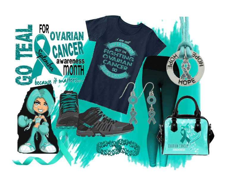 Teal Ovarian Outfit