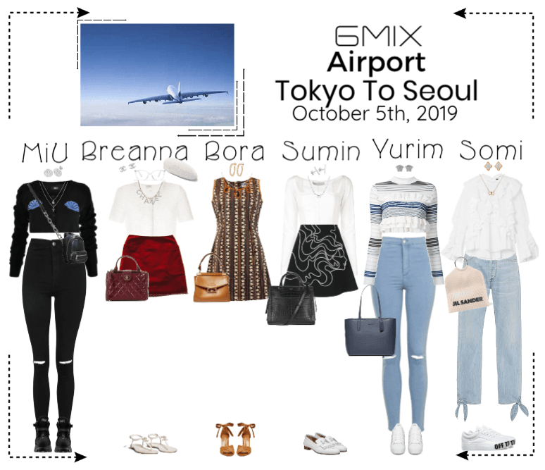 《6mix》Airport | Tokyo To Seoul