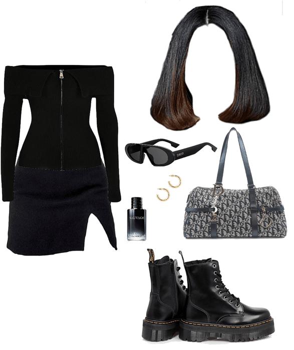 Black On Black On Dior