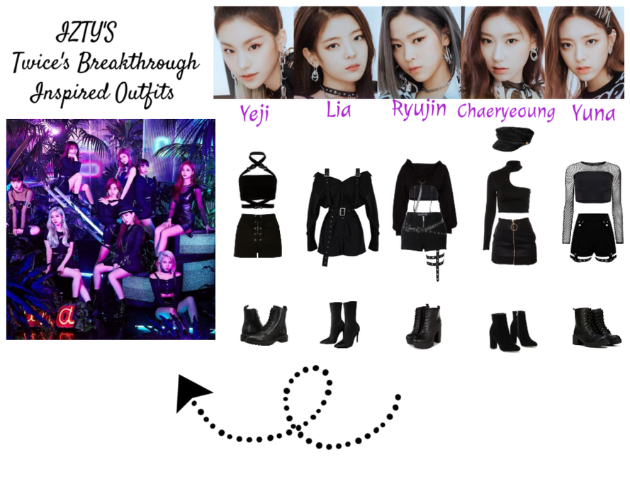 ITZY'S Twice's Breakthrough Inspire Outfits
