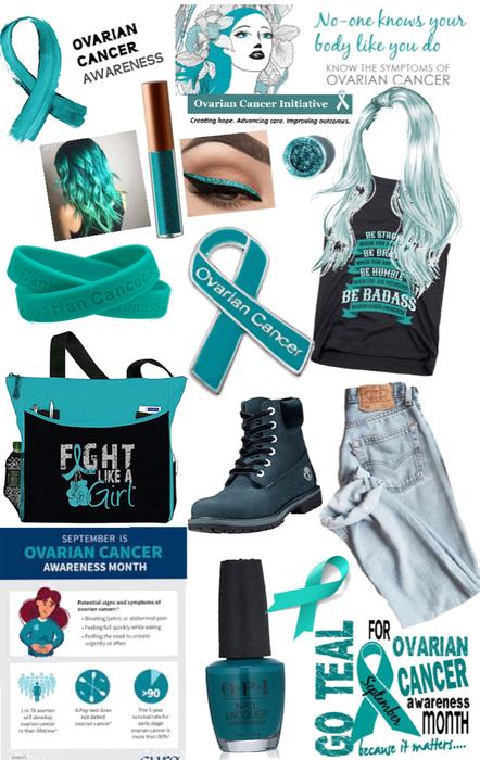ovarian cancer ♋️ awareness 💙💙