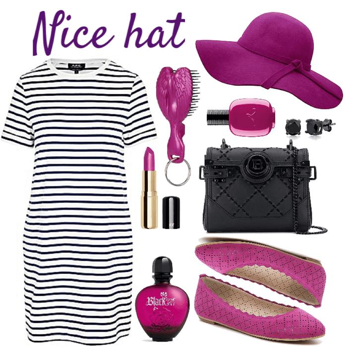 That hat!