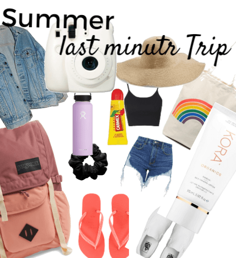 Last Minute summer trip