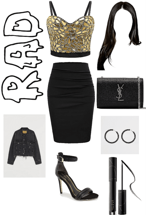 fancy/night out style outfit!!🖤🖤
