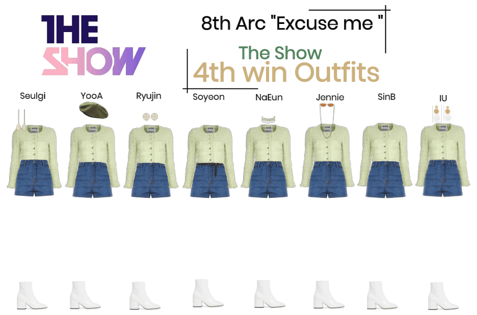"""8THARC the show """"Excuse me"""" 4th win"""