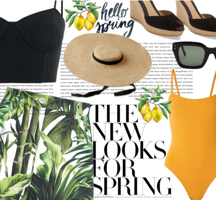Spring Tropical Vacation