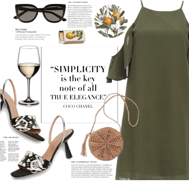 A Simple Elegant Dress