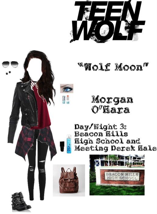 "Teen Wolf: ""Wolf Moon"" - Morgan O'Hara - Day 3: Beacon Hills High School"