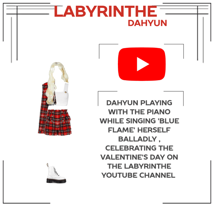 LABYRINTHE DAHYUN PIANO FOR THE VALENTINE'S DAY