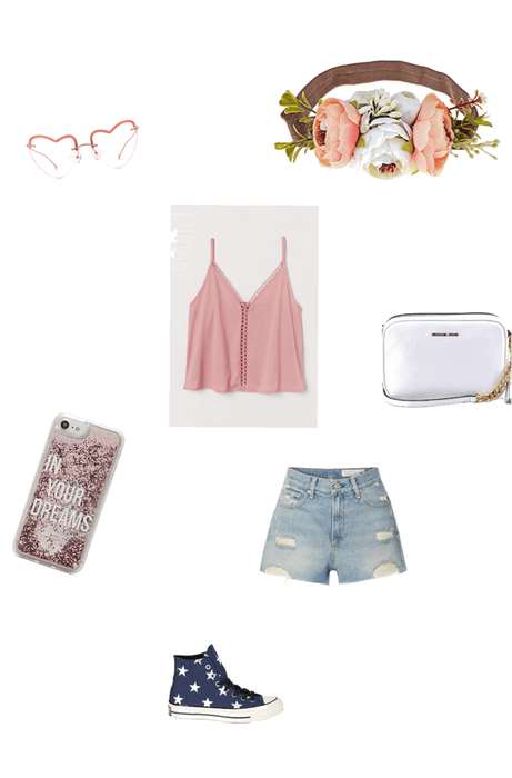 pink lady teenage outfit