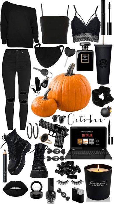 October 🖤🧡🖤