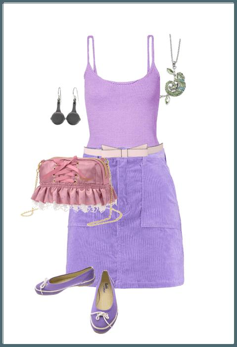 Off to Disney - Rapunzel