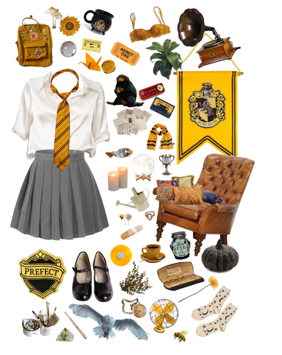 huffle and proud.// (JK Rowling House)
