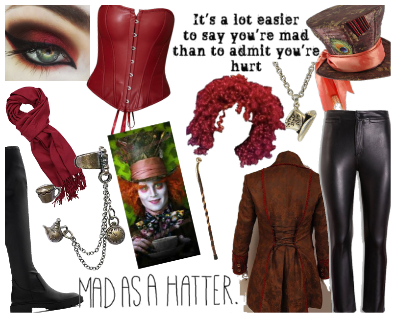 Mad Hatter Genderbend