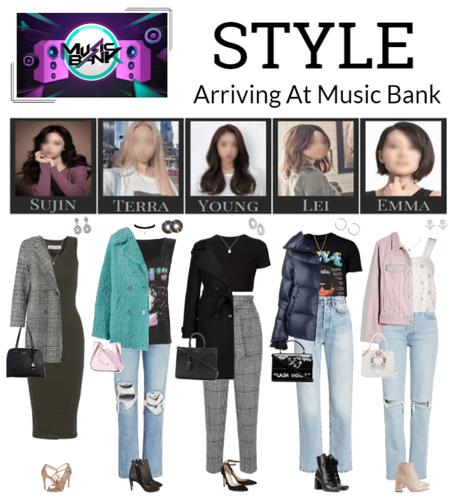 STYLE Arriving At Music Bank