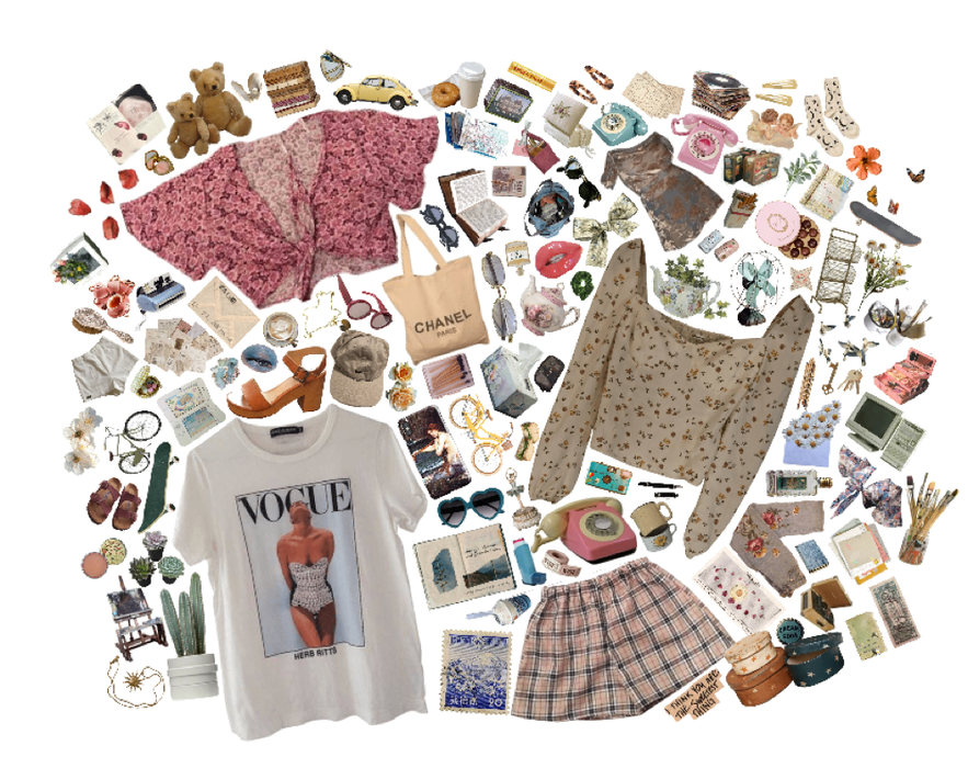 clothes moodboard