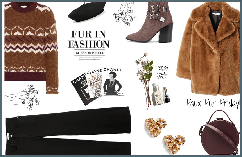 Faux Fur Friday!