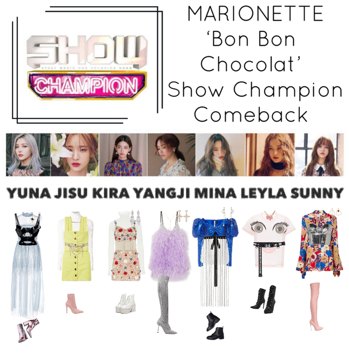 {MARIONETTE} 'Bon Bon Chocolat' Show Champion Comeback Stage