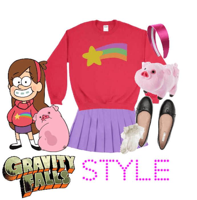 Character Fashion: Mabel Pines