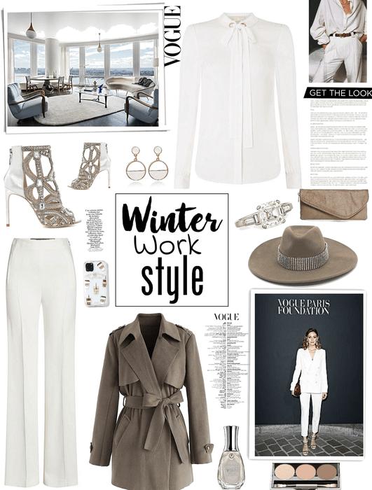 winter work wear at vogue